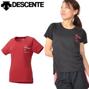 デサント(DESCENTE) サンスクリーン Tシャツ になります。  レディース・女性・婦人 太陽...
