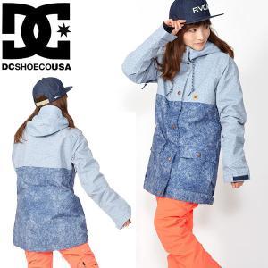 スノーボード ジャケット DC Shoes ディーシー シューズ レディース CRUISER JKT ロゴ スタジャン スノボ 25%off|elephant