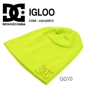 現品限り  得割40 ゆうパケット対応可能!ニット帽 DC Shoes ディーシー シューズ メンズ IGLOO ロゴ ビーニー 帽子 elephant