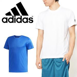 30%OFF 半袖 Tシャツ アディダス adidas M ESSENTIALS Badge of Sport ベーシック Tシャツ メンズ ワンポイント トレーニング ウェア 2018春新作
