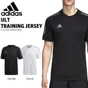 半袖 Tシャツ アディダス adidas メンズ ULT トレーニングジャージー サッカー フットボール トレーニングウェア プラクティスシャツ 2018秋冬新作 得割25 EUV10|elephant