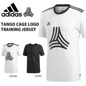 半袖 Tシャツ アディダス adidas メンズ TANGO CAGE LOGO トレーニングジャージー サッカー トレーニングウェア プラクティスシャツ 2018秋冬新作 得割25 EUV21|elephant