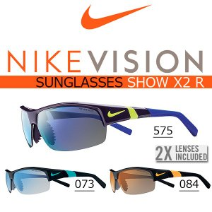 スポーツサングラス ナイキ NIKE SHOW X2 R NIKE VISION ナイキ ヴィジョン ゴルフ ランニング 紫外線対策 UVカット  得割23 送料無料