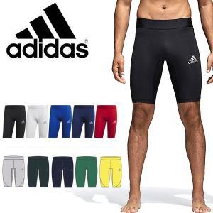スポーツタイツ アディダス adidas ALPHASKIN TEAM ショートタイツ メンズ アルファスキン アンダーウェア インナー コンプレッション ウェア 2018春新作 得割23|elephant