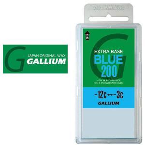 GALLIUM(ガリウム) エクストラ ベース ワックス ブルー SW2078 シーズン前のベースワ...