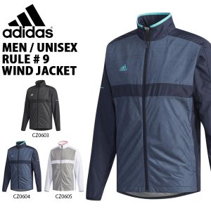 得割30 ウインドブレーカー アディダス adidas MEN / UNISEX RULE#9 ウインドジャケット 裏起毛 ナイロン テニス ウエア EYV85|elephant