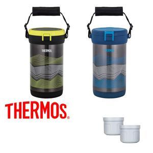 氷を持ち運ぶための魔法びん サーモス THERMOS 真空断熱アイスコンテナー 0.7L×2個 スポーツ アウトドア キャンプ|elephant