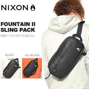 ボディバッグ NIXON ニクソン FOUNTAIN SLING PACK II メンズ レディース ウエストポーチ 2018春夏新色 送料無料 5L|elephant