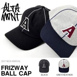 現品限り 得割40 ベースボールキャップ ALTAMONT アルタモント メンズ FRIZWAY B...