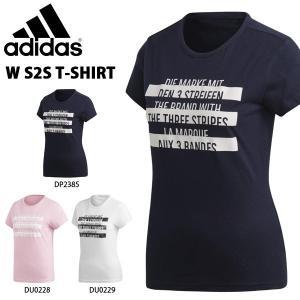 半袖 Tシャツ アディダス adidas レディース W S2S Tシャツ ランニング トレーニング ウェア ジム ヨガ フィットネス 2019夏新作 得割23 FRU80|elephant