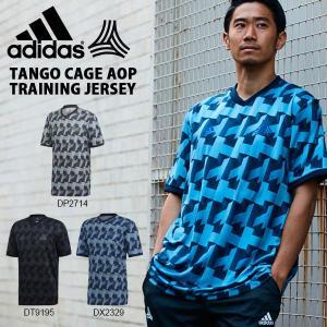 得割30 半袖 Tシャツ アディダス adidas メンズ TANGO CAGE AOP トレーニングジャージー サッカー フットボール トレーニング ウェア 2019春新作 FRW09|elephant