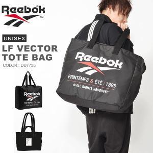 送料無料 トートバッグ リーボック Reebok LF ベクター トートバッグ ショルダーバッグ ベクターロゴ エコバッグ ショッピングバッグ かばん 2019春新作|elephant
