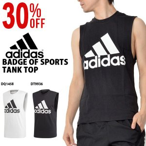 adidas (アディダス) M MUSTHAVES BADGE OF SPORTS タンクトップ ...