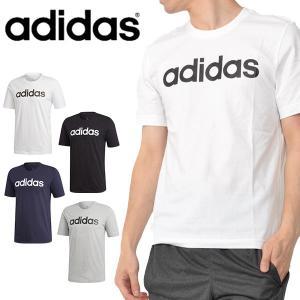 半袖 Tシャツ アディダス adidas メンズ M CORE リニアTシャツ メンズ ビッグロゴ ランニング トレーニング ウェア ジム 2019夏新作 得割20 FSG79|elephant