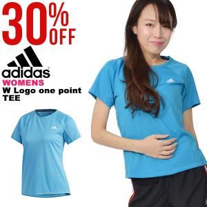30%OFF 半袖 Tシャツ アディダス adidas W 定番ロゴワンポイント半袖Tシャツ レディース ランニング トレーニング ウェア 2019春新作 FTF32