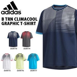 得割30 キッズ 半袖 Tシャツ アディダス adidas B TRN CLIMACOOL グラフィック Tシャツ ジュニア 子供 男の子 スポーツウェア 2019夏新作 FTJ66|elephant