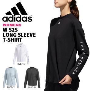 長袖 Tシャツ アディダス adidas レディース W S2S ロングスリーブ Tシャツ ロンT ランニング トレーニング ウェア ジム 2019春新作 得割20 FTK22