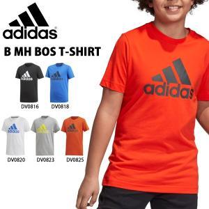 得割30 キッズ 半袖 Tシャツ アディダス adidas B MH BOS Tシャツ ジュニア 子供 ビッグロゴ スポーツウェア 2019夏新作 FTM57|elephant