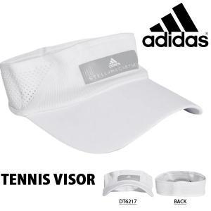 サンバイザー アディダス adidas レディース TENNIS VISOR キャップ CAP 帽子 テニス 熱中症対策 日射病予防 2019春新作 得割25 FTO58|elephant