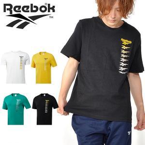 半袖 Tシャツ リーボック クラシック Reebok CLASSIC メンズ CL ベクター グラデーションプリント Tシャツ ロゴ 2019秋新作 FXP21|elephant
