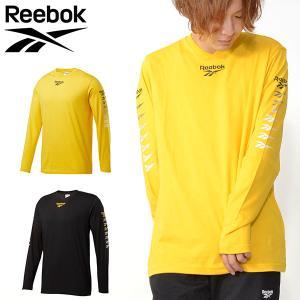 長袖 Tシャツ リーボック クラシック Reebok CLASSIC メンズ CL ベクター グラデーションプリント ロングスリーブ Tシャツ ロンT 2019秋新作 FXP22|elephant