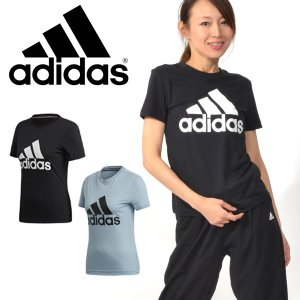 30%OFF 半袖 Tシャツ アディダス adidas レディース W MH エンボス レギュラー Tシャツ ビッグロゴ ランニング トレーニング ウェア 2019夏新作 FXT16|elephant