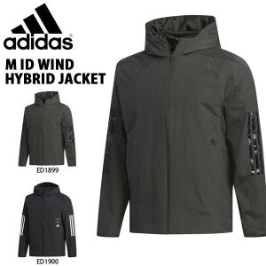 ウインドブレーカー アディダス adidas メンズ M ID ウインドハイブリッドジャケット 中綿 ナイロン トレーニング ウェア 2019冬新作 得割25 送料無料 FYK25|elephant
