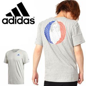 半袖 Tシャツ アディダス adidas メンズ フランス ICON T ラグビー サポーター FRANCE 2019秋新作 FYM60|elephant