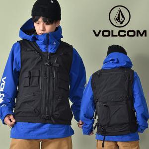 スノーボードウェア VOLCOM ボルコム Iguchi Slack Vest メンズ ベスト スノボ スノーボード 2021-2022冬新作 10%off エレファントSPORTS PayPayモール店