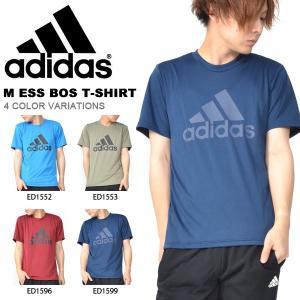 半袖 Tシャツ アディダス adidas M ESS BOS Tシャツ メンズ ビッグロゴ ランニング トレーニング ウェア ジム 2018秋冬新作 GEF97|elephant