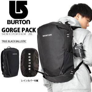 リュックサック バートン BURTON ゴージ パック GORGE PACK 20L バックパック リュック バッグ BAG 167001 2018-2019冬新作|elephant