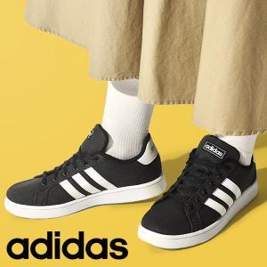送料無料 32%off アディダス スニーカー レディース adidas GRANDCOURT K グランドコート シューズ 靴 ブラック 黒 EG1517|エレファントSPORTS PayPayモール店