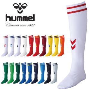 サッカーソックス ヒュンメル hummel ゲームストッキング メンズ ソックス 靴下 サッカー フットボール フットサル 練習 試合 得割20 HAG7070 elephant