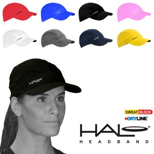 汗が目に入らない! メッシュキャップ ヘイロ HALO スポーツハット ヘッドバンド内蔵 帽子 メンズ レディース ランニング 送料無料|elephant