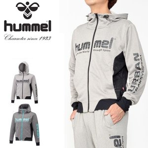 スウェット パーカー ヒュンメル hummel スウェットフーデッドジャケット メンズ フルジップ サッカー トレーニング ウェア 20%OFF HAP8193|elephant