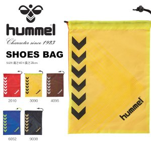 ヒュンメル hummel シューズバッグ シューズケース スポーツバッグ かばん バッグ 巾着 靴入れ 2019春夏新作 得割21 HFB7083|elephant