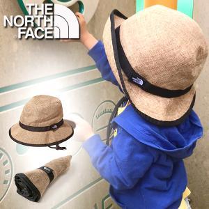 ザ・ノースフェイス 麦わら帽子 キッズ THE NORTH FACE Kids Hike Hat ハイク ハット 折り畳み 子供 パッカブル 紫外線 NNJ01820 エレファントSPORTS PayPayモール店