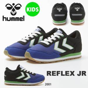 スニーカー ヒュンメル hummel キッズ 子供靴 REFLEX JR リフレックス ジュニア 運...