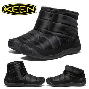 ミッド ブーツ KEEN キーン レディース HOWSER MID ハウザーミッド スリップオン サイドゴア スニーカー シューズ 靴 1019651 1019652 2018秋冬新作 保温|elephant