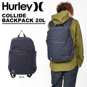 リュックサック バックパック HURLEY ハーレー COLLIDE BACKPACK 20L サーフ サーフィン ボディボード 2018秋冬新作 BAG バッグ|elephant