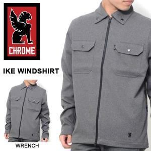 アイク ウィンドシャツ クローム CHROME メンズ IKE WIND SHIRTS ジャケット 送料無料 得割50 半額 現品限り|elephant