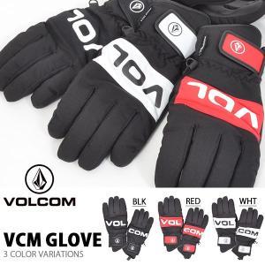 スノーグローブ VOLCOM ボルコム メンズ Vcm Glove 手袋 スノーボード スキー J68519JB 2018-2019冬新作 18-19 日本正規品 20%off|elephant
