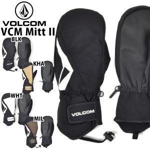スノーグローブ VOLCOM ボルコム メンズ VCM Mitt II ミトン 手袋 スノーボード ...