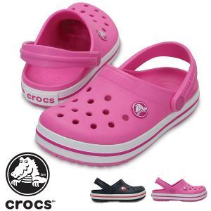 サンダル クロックス crocs クロックバンド キッズ ベビー 子供 クロッグサンダル シューズ 靴 日本正規品 204537 新色|elephant