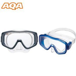 マスク アクア AQA モアナソフト メンズ 水中マスク ゴーグル 水中メガネ スノーケリング 海水浴 海 ダイビング 川  得割20 elephant