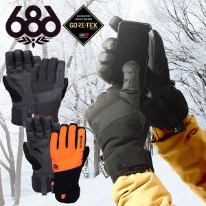 手袋 686 SIX EIGHT SIX シックスエイトシックス LINEAR GLOVE GORE-TEX ゴアテックス レディース グローブ スノボ スノーボード L7WGLV11 得割35|elephant