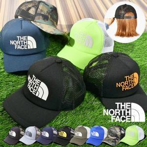 THE NORTH FACE (ノースフェイス) LOGO MESH CAP(ロゴメッシュキャップ)...