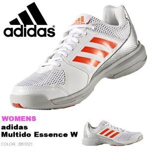 インドアシューズ アディダス adidas レディース マルチドエッセンスW 室内 バレーボール ジム シューズ 靴 BB1821 得割23 送料無料|elephant