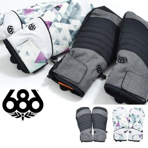 手袋 686 SIX EIGHT SIX シックスエイトシックス Majesty Mitt ミトン レディース グローブ スノボ スノーボード スキー L8WGLV21 2018-2019冬新作 得割20|elephant