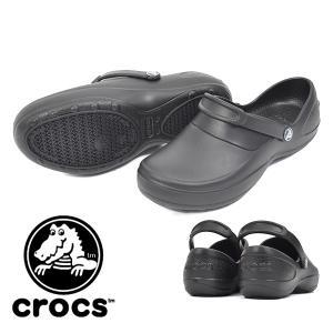 クロックス crocs サンダル レディース マーシーワーク mercy work ワークシューズ ...